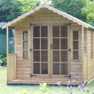 The Shed Project Wooden Chalet